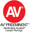 AV Preeminent - Martindale-Hybbell Lawyer Ratings